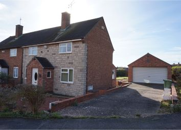 Thumbnail 3 bed semi-detached house for sale in St. James Crescent, Southam