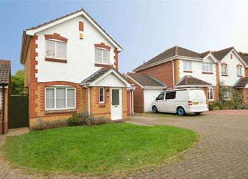 Thumbnail 3 bed detached house for sale in Bronte Close, Town Centre, Rugby, Warwickshire