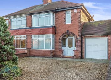 Thumbnail 3 bed semi-detached house for sale in Swinston Hill Road, Dinnington, Sheffield