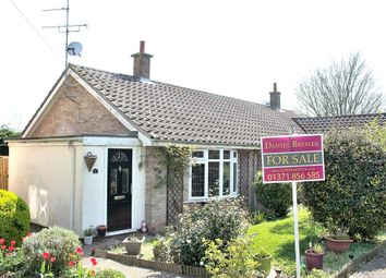 Thumbnail 2 bed semi-detached bungalow for sale in Watts Close, Barnston, Dunmow