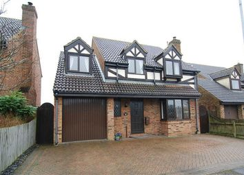 Thumbnail 4 bed detached house for sale in Hunters Way, Kimbolton, Huntingdon