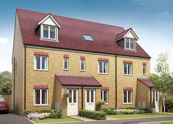 "Thumbnail 3 bed terraced house for sale in ""The Sutton"" at Brookside, East Leake, Loughborough"