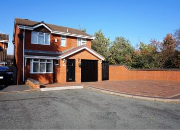 Thumbnail 4 bed detached house for sale in Tutbury Close, Cannock