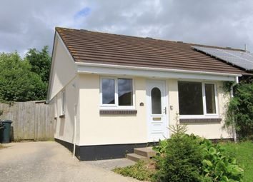 Thumbnail 2 bed semi-detached bungalow for sale in Oak Close, Kingsteignton, Newton Abbot