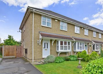 Thumbnail 3 bed end terrace house for sale in Cranmere Court, Strood, Rochester, Kent