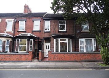 Thumbnail 3 bedroom terraced house to rent in Campbell Road, Stoke, Stoke-On-Trent