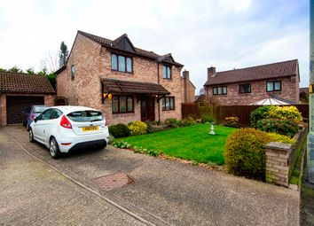 Thumbnail 4 bed detached house for sale in Shire Court, Quakers Yard, Treharris