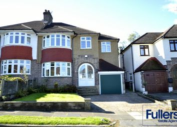 Thumbnail 4 bed semi-detached house for sale in Laurel Drive, Winchmore Hill