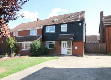 Thumbnail 4 bed semi-detached house for sale in Glenavon Road, Bedford