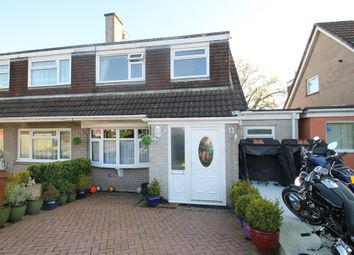 Thumbnail 3 bed semi-detached house for sale in Longbrook Close, Woodlands, Ivybridge