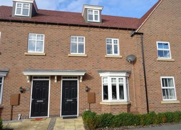 Thumbnail 3 bed town house for sale in William Spencer Avenue, Sapcote, Leicester