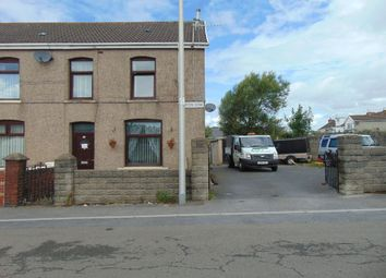 Thumbnail 3 bed end terrace house for sale in Dafen Row, Llanelli