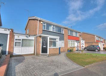 Thumbnail 4 bed semi-detached house for sale in Gracefield Close, Chapel Park, Newcastle Upon Tyne