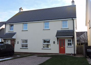 Thumbnail 3 bed semi-detached house for sale in Maes Waldo, Fishguard