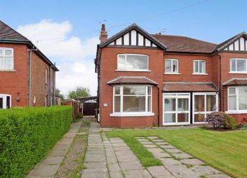 Thumbnail 3 bed semi-detached house to rent in Crewe Road, Shavington, Crewe