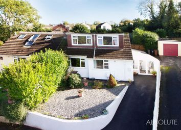 Thumbnail 3 bed semi-detached bungalow for sale in Nether Meadow, Marldon, Paignton