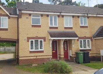 Thumbnail 2 bed terraced house for sale in Rosecroft Way, Thetford