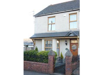 Thumbnail 3 bed semi-detached house for sale in Crawshay Street, Hirwaun, Aberdare