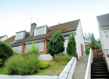 Thumbnail 2 bed semi-detached house for sale in Overton Gardens, Mannamead, Plymouth