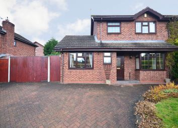 Thumbnail 3 bed detached house for sale in Coleridge Drive, Cheadle, Stoke On Trent