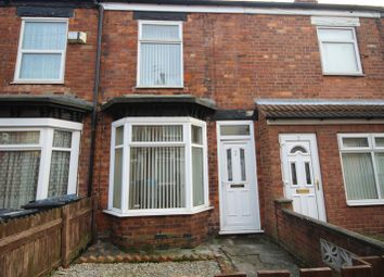 Thumbnail 2 bedroom terraced house to rent in York Terrace, Rustenburg Street, Hull