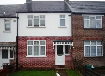 Thumbnail 3 bed terraced house to rent in Thrigby Road, Chessington