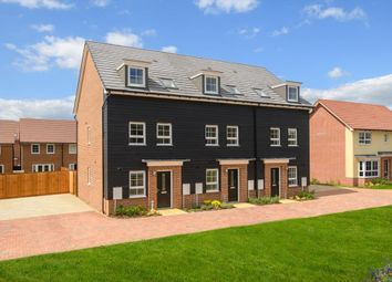 """Thumbnail 3 bed terraced house for sale in """"Norbury"""" at Red Lodge Link Road, Red Lodge, Bury St. Edmunds"""