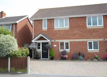 Thumbnail 3 bedroom semi-detached house for sale in Glenville Road, Walkford, Christchurch, Walkford Christchurch, Dorset