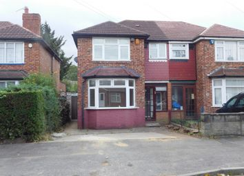 Thumbnail 4 bed semi-detached house to rent in Ashford Avenue, Hayes