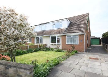 Thumbnail 3 bed semi-detached house for sale in Melrose Avenue, Marshside, Southport