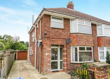 Thumbnail 3 bedroom semi-detached house for sale in Goring Road, Ipswich