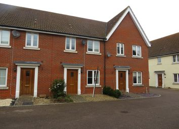 Thumbnail 3 bedroom terraced house to rent in Harebell Road, Red Lodge, Bury St. Edmunds