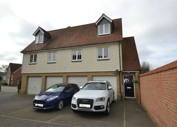 Thumbnail 3 bed flat for sale in Cambie Crescent, Colchester, Essex