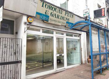 Thumbnail Retail premises to let in Market Street, Torquay, Torquay