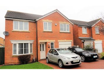 Thumbnail 4 bed detached house for sale in Kentra Close, Redcar