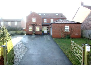 Thumbnail 6 bed detached house for sale in West End, Kilham, Driffield