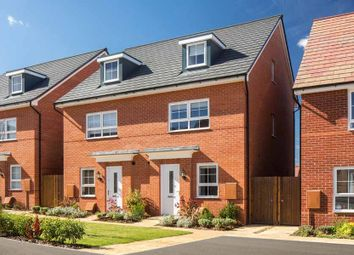 "Thumbnail 4 bed semi-detached house for sale in ""Queensville"" at Fen Street, Wavendon, Milton Keynes"