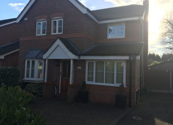 Thumbnail 4 bed detached house to rent in Broad Road, Sale