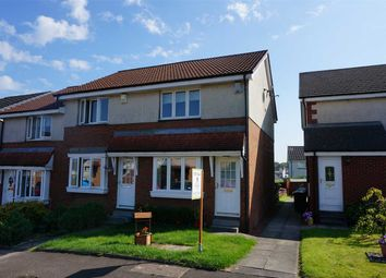 Thumbnail 2 bed end terrace house for sale in Lochwood Loan, Moodiesburn, Glasgow