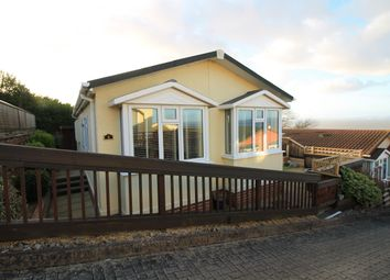 Thumbnail 2 bed mobile/park home for sale in Two Acres Park, Walton Bay, Clevedon, North Somerset