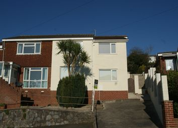 Thumbnail 2 bed flat for sale in Waterleat Avenue, Paignton