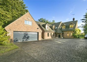 Thumbnail 6 bed detached house for sale in Leigh Court Close, Cobham, Surrey