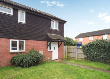 Thumbnail 3 bedroom end terrace house to rent in Easington Drive, Lower Earley, Reading