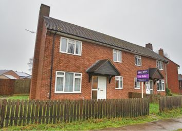 Thumbnail 2 bed semi-detached house for sale in Gibson Green, Witham St Hughs