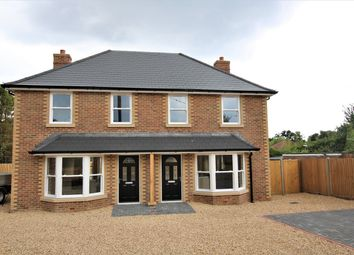 Thumbnail 3 bedroom semi-detached house for sale in Woolsbridge Road, St Leonards, Ringwood