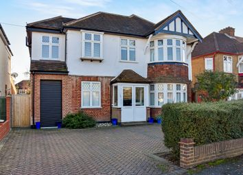 Thumbnail 5 bed detached house for sale in Elgar Avenue, Surbiton, Surrey