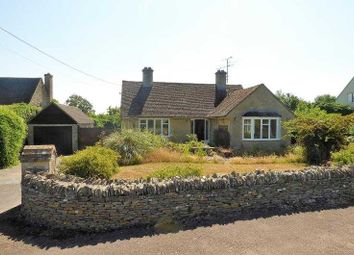 Thumbnail 2 bed detached bungalow to rent in Fairford Road, Quenington, Cirencester