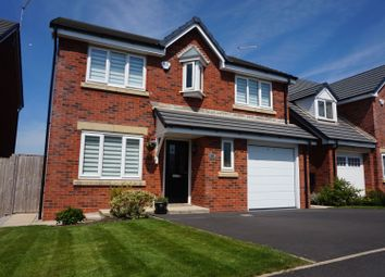 Thumbnail 4 bed detached house for sale in Benedict Drive, Blackpool