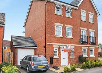 Thumbnail 4 bed semi-detached house for sale in Bradley Drive, Grantham