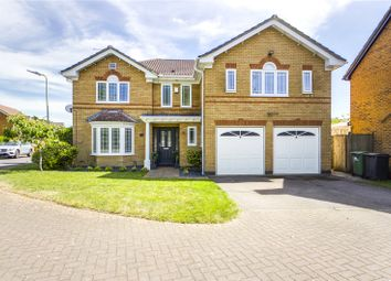 Thumbnail 5 bed detached house for sale in Willow Gardens, Tilehurst, Reading, Berkshire